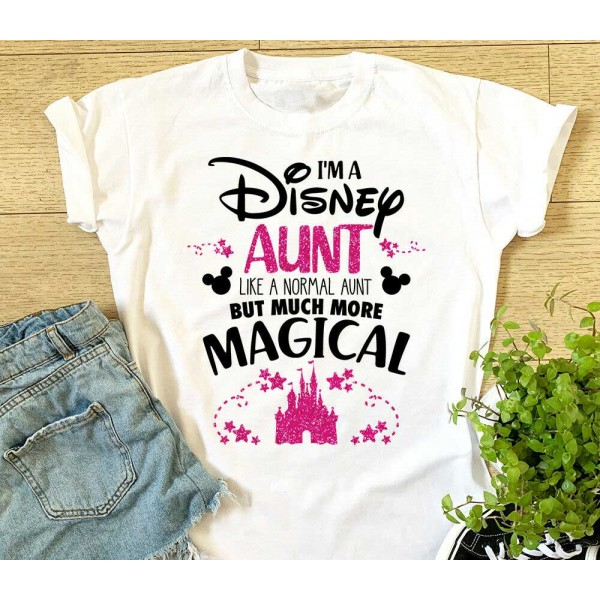 I'm A Disney Aunt T-shirt - Much More Magical Disneyland Holiday | Garment Printing